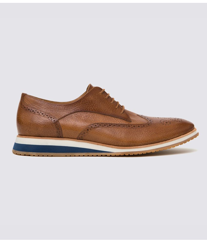 Sapato Brogue Floater